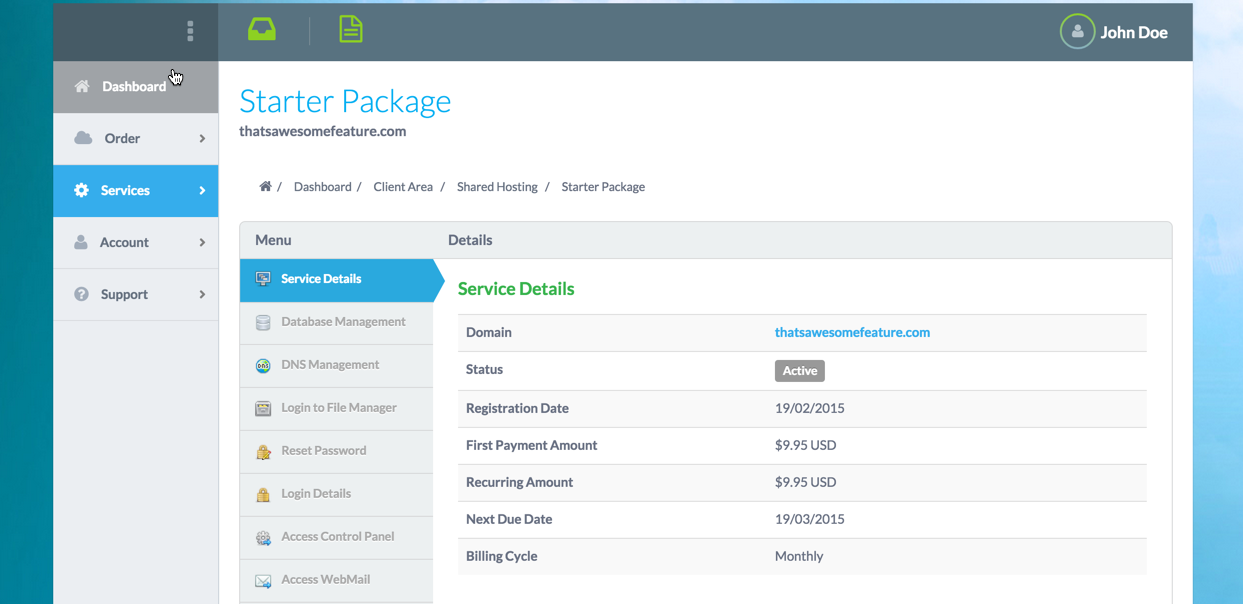 cPanel | HostBill | Billing & Automation Software for WebHosts