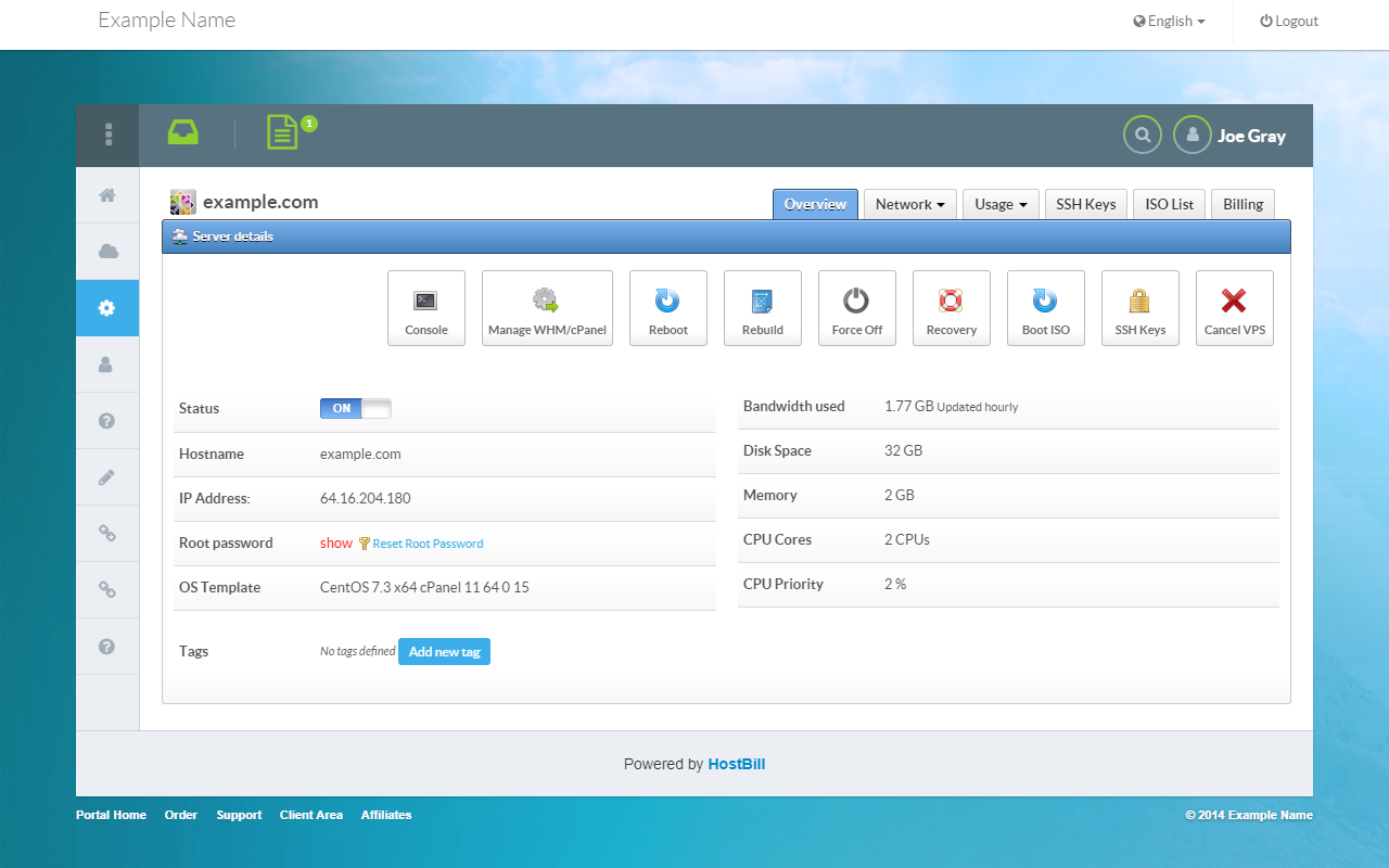 WHM | HostBill | Billing & Automation Software for WebHosts
