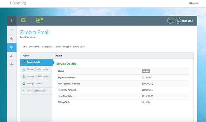 Zimbra | HostBill | Billing & Automation Software for WebHosts