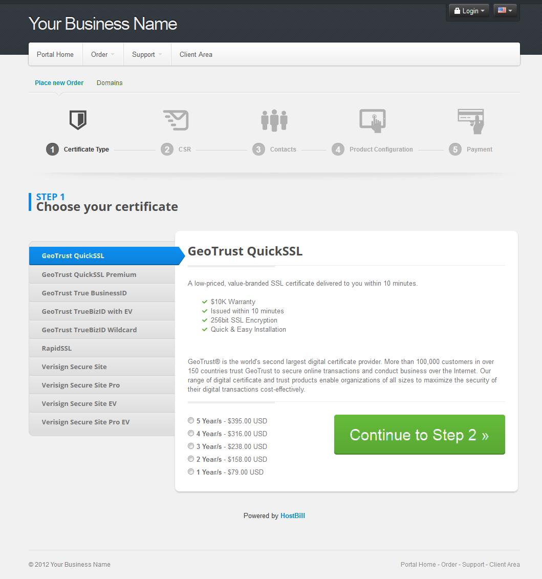 Ssl certificates version 2 hostbill billing automation ssl certificates orderpage 1betcityfo Gallery