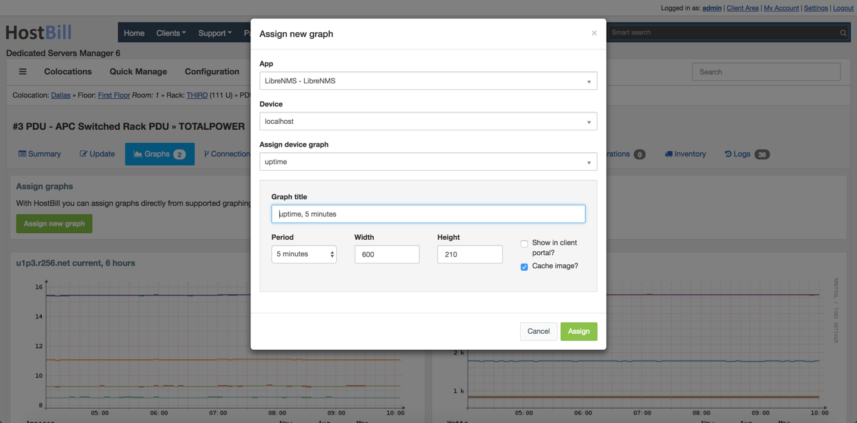 Colocation / Data Center Manager | HostBill | Billing