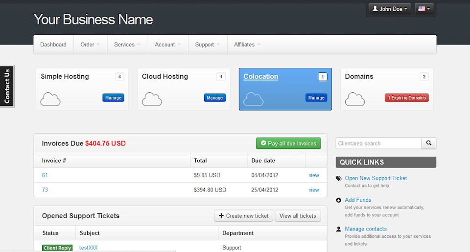 Hostbill 3 4 0 Released Introducing New Clientarea Theme