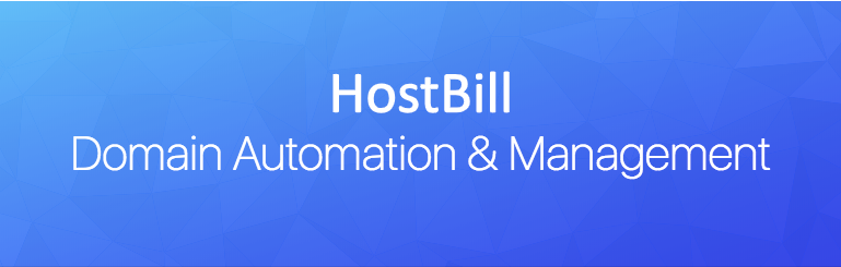 HostBill Domain automation and management