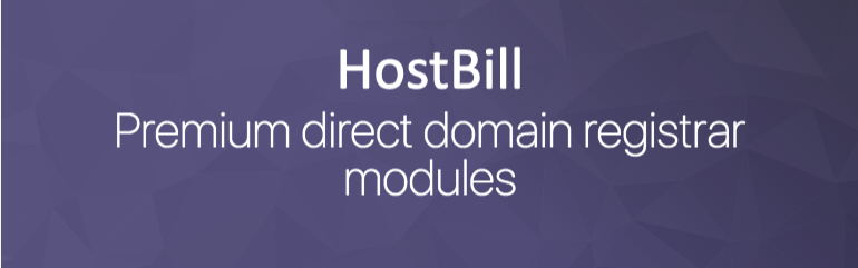 Premium domain registrar modules for HostBill