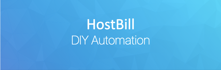 HostBill DIY Automation