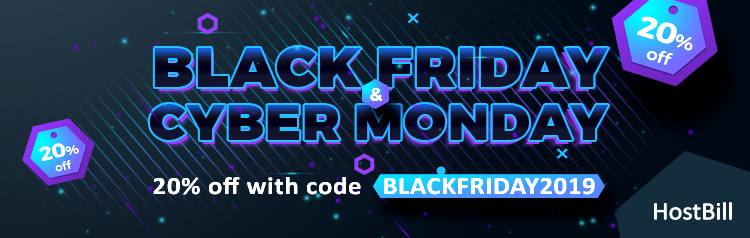 Black Friday HostBill offer