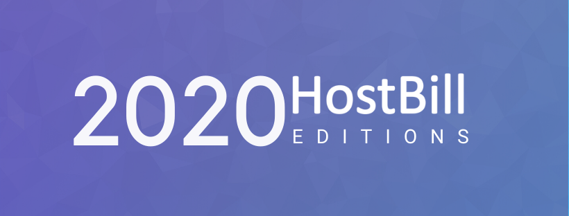 HostBill 2020 Editions