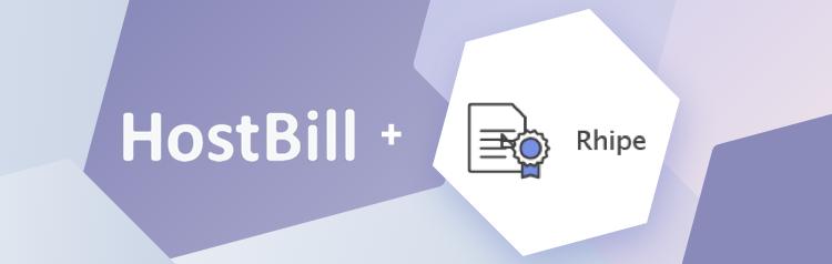 Rhipe module for HostBill