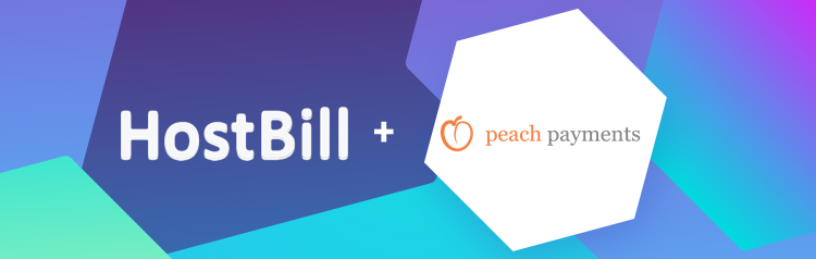 Peach Payments integration for HostBill